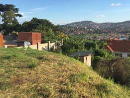 1.5 acres in Muyenga with lake view suitable for appartments