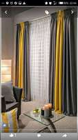 Curtains with their matching sheers