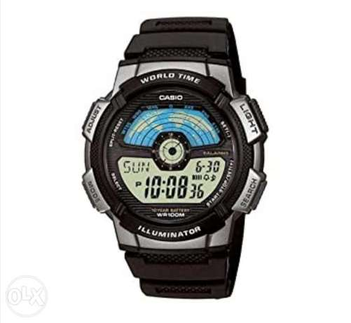 Casio world clock