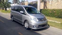Nissan Serena highway star KCM number 2010 model loaded with alloy