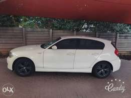 BMW 1 series great condition new tyres grey mags