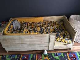 Toddler box bed & chest of drawers