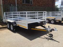 4m Double Acle Utility Trailer for sale, Brand new, Papers incl.