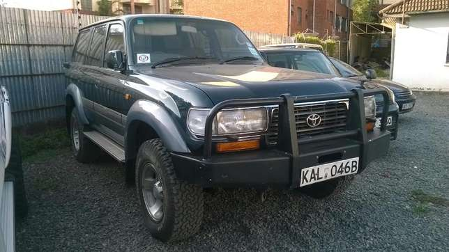 Land Cruiser Vx24 valve 80 series. Absolutely clean 210,000 km Only Lavington - image 1