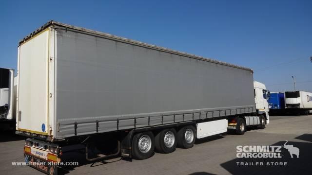 Krone Semitrailer Prelată culisantă standard - 2012