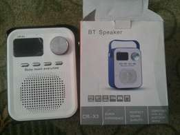 BT Bluetooth Speaker Radio