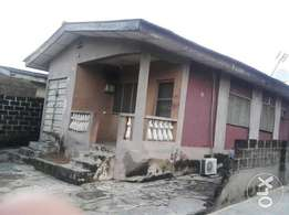 A bungalow comprising 3 bedroom flat and 2 bedroom with C of O N4.5m
