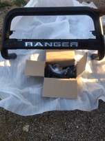 Ford ranger T6 nudge bar with brackets