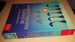 Introduction to Business Management text book - Eighth Edition