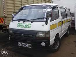 Quick sale of Hiace 5L