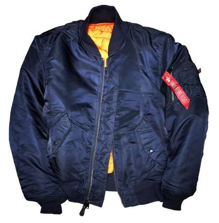 New Bomber jackets blue navy gear originial XL only at 3500ksh Nairobi CBD - image 1