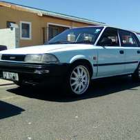 Im selling my Toyota conquest 1300,5 speed papers in order