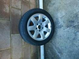 16 inch bmw e46 rim and tyre for sale