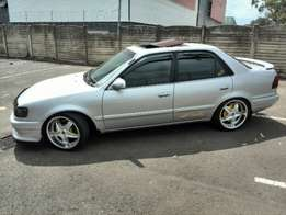 1999 silver toyota corolla for R 19500