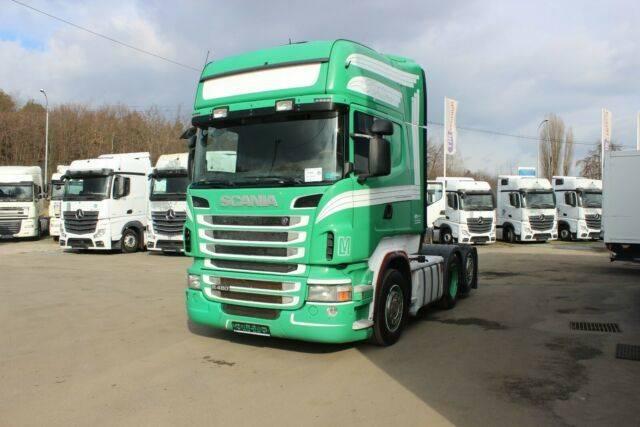 Scania R 480 6x2, RETARDER, TOPLINE, WHEELS 90% - 2010