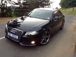 Audi A4, 19inch rims, Suede interior, electric sunroof, many extras.