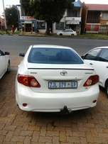 Toyota Corolla Professional very neat and clean accident free