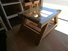 Hand Crafted Coffee Table For Sale