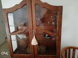 Antique Show Cabinet