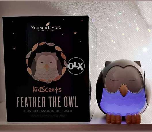 Feather the Owl Ultrasonic Diffuser with Humidifier (Brand New)