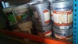 Wall primer / paint for sale