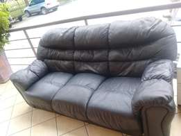 Genuine Leather 3 seater Couch FOR SALE