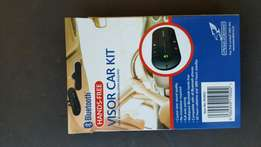 Handsfree visor car kit,crystal clear,brand new only R600