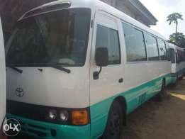 Clean Registered Toyota Coaster Bus
