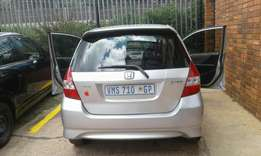 Honda Jazz sliver 2007 model
