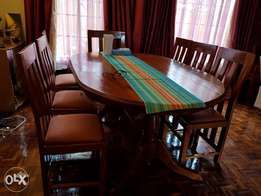 8 seater Mahogany Dining Table