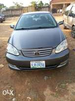 Toyota Corolla Sport here in Area 1
