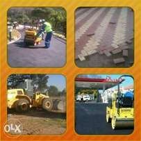 tar surfacing/paving