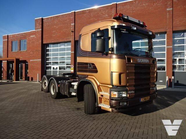Scania 164-580 6x2*4 Optiecruse - Retarder, Low Kilometer!, Old - 2004