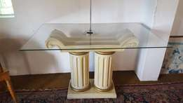 Beautiful Corinthian Styled Entrance Hall Table