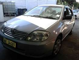 160i GLE 2005 toyota corolla for sale