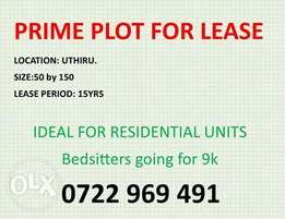 Prime plot for Lease at UTHIRU Shopping Centre