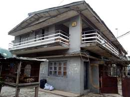 An Old One Storey On Over Full Plot Of Land About 750 Sqm at Alagomeji