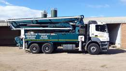 2007 Mercedes Benz Pump Truck for sale!