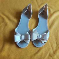 Nude jelly Comfy sandals