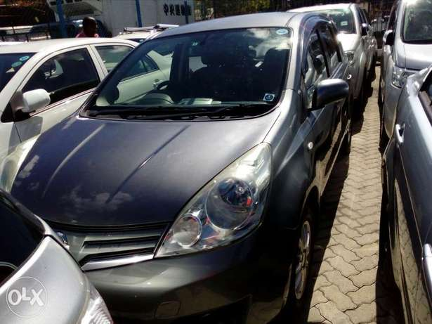 Nissan note grey color Fully loaded unit new plate number fresh import Mombasa Island - image 1