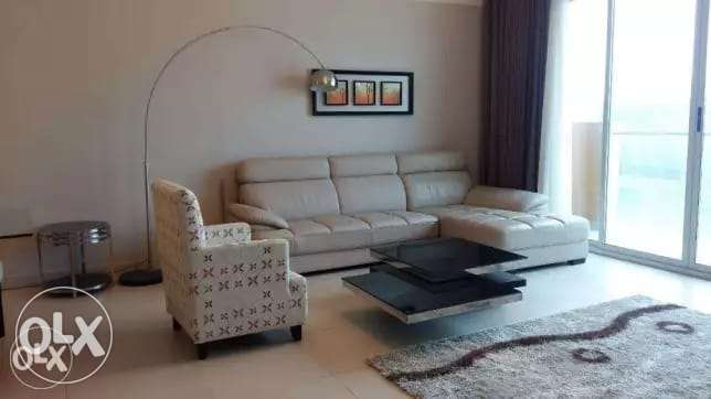 Modern 2 + Half Bedrooms FF Apartment in Amwaj island For Rent