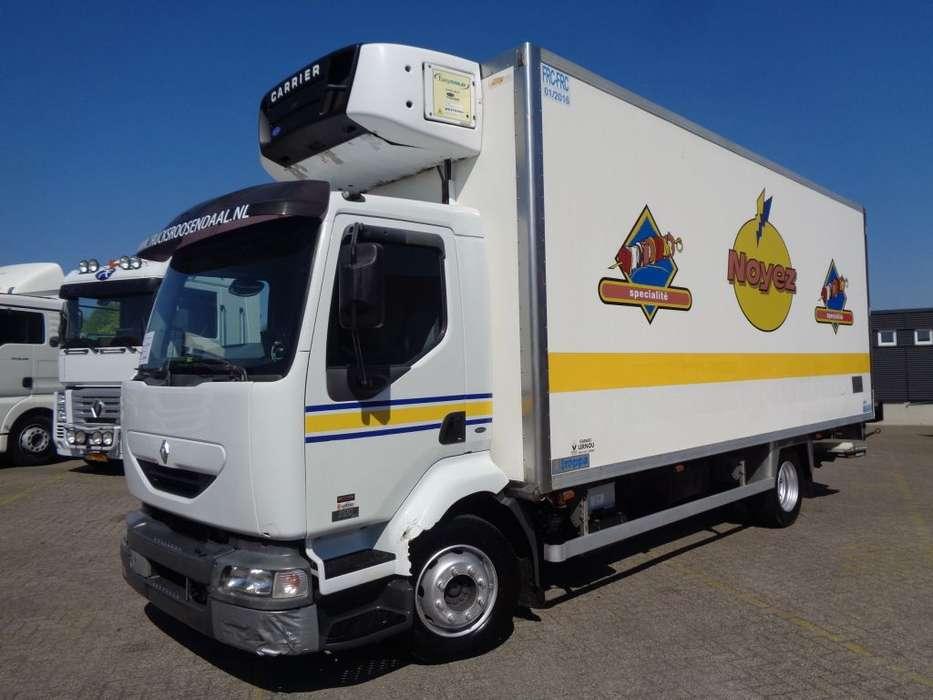 Renault MIDLUM 220 dCI + MANUAL + Carrier Supra 850Mt + LIFT - 2005