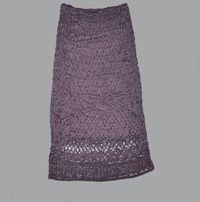 вязаная юбка мода и стиль Olxua