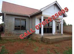 Structurally sound 3 bedroom bungalow in Namugongo-Sonde at 155m