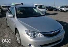 Fresh Import Totally Clean Silver Subaru Impreza Anesis for sale
