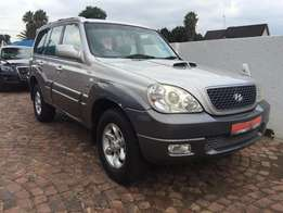 2005 Hyundai Terracan 2.9 crdi Auto with sunroof ,4x4