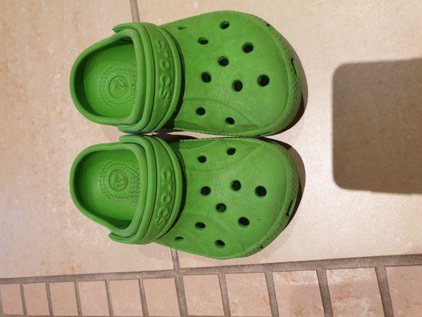 rozmiar 40 delikatne kolory najnowsza zniżka Klapki buty crocs zielone rozmiar 6 / 7 Częstochowa ...