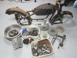 Vintage BMW R50/2 project for sale