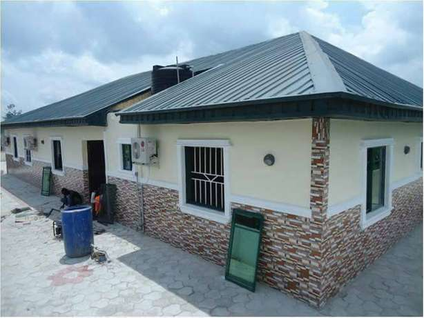 5Bedroom bungalow for sale with 35kva generator ( C of O) Ifo - image 2