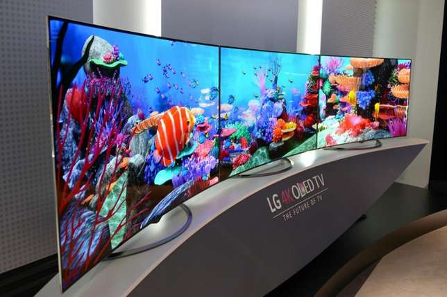 new brand 65 inch lg 4k uhd smart tv in cbd shop call now or visit Nairobi CBD - image 1